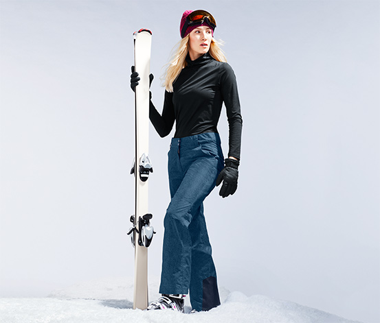 Fashion-Skihose im Jeans-Look