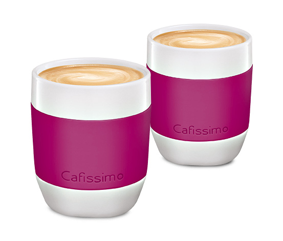 Cafissimo mini Kaffeebecher, berry