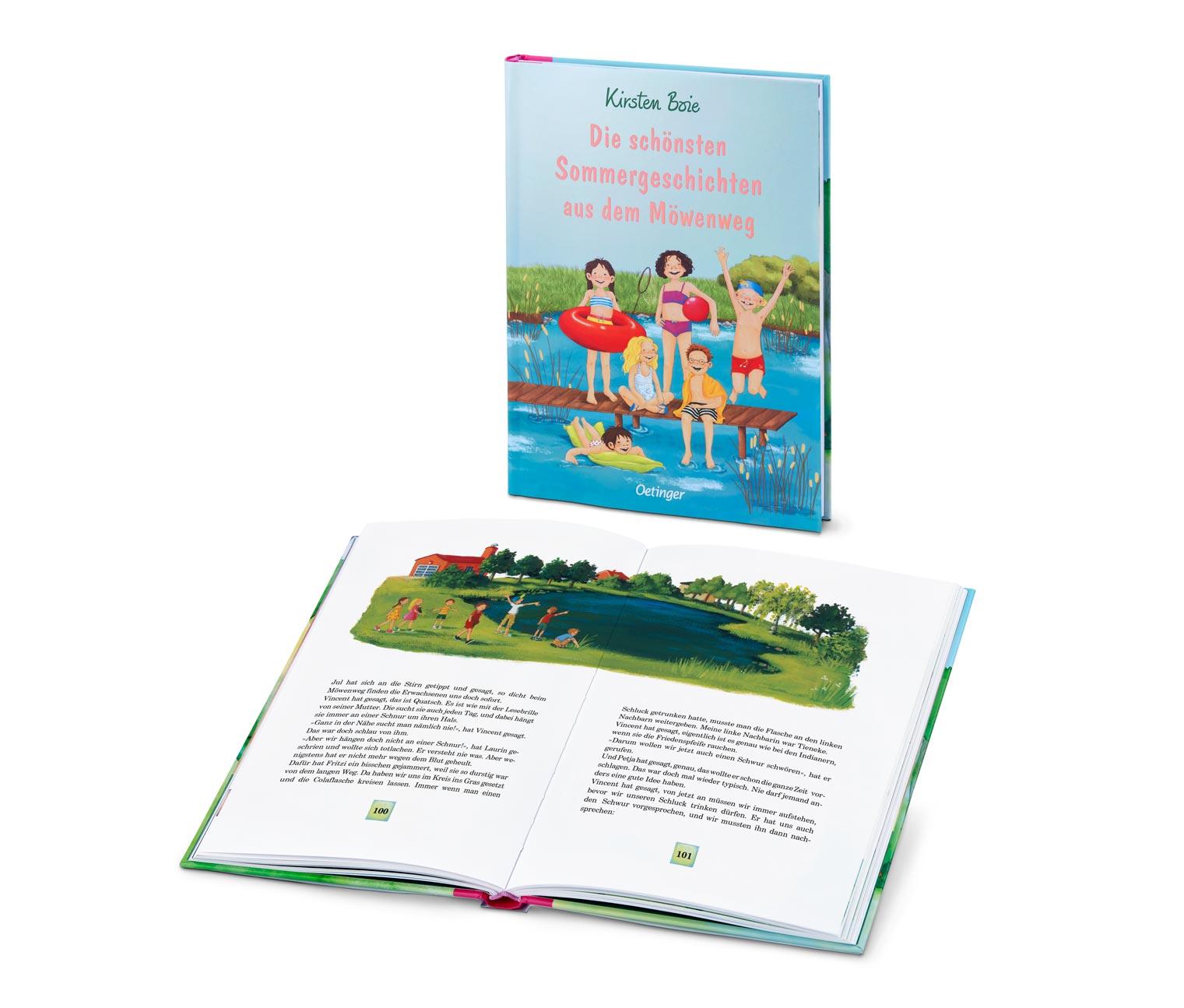 Image of Buch »Die schönsten Sommergeschichten aus dem Möwenweg«