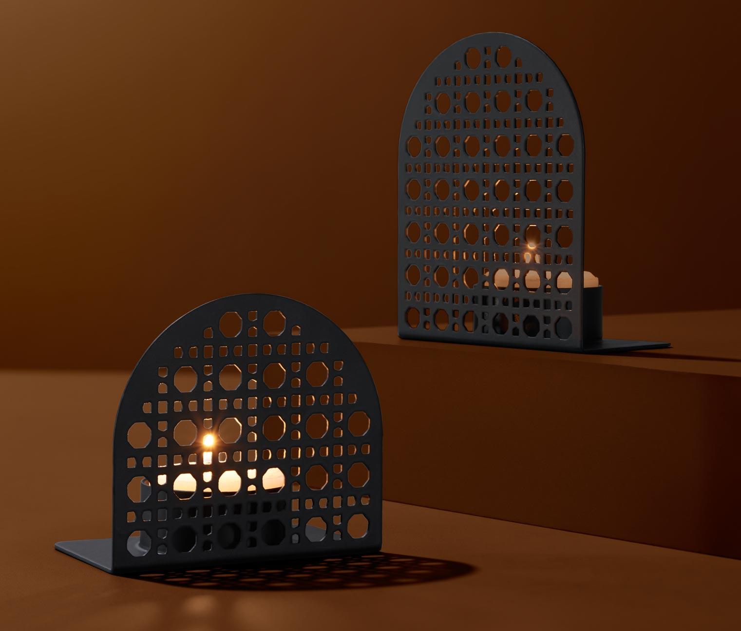 Image of 2 Teelichthalter