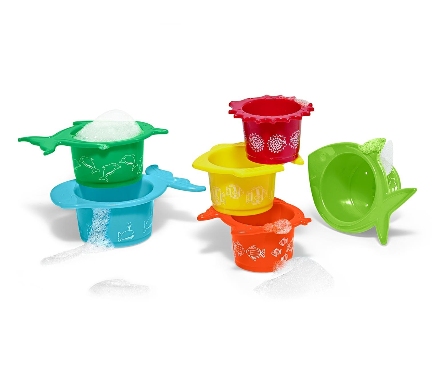 Image of 6 Wasser- und Sandspielbecher