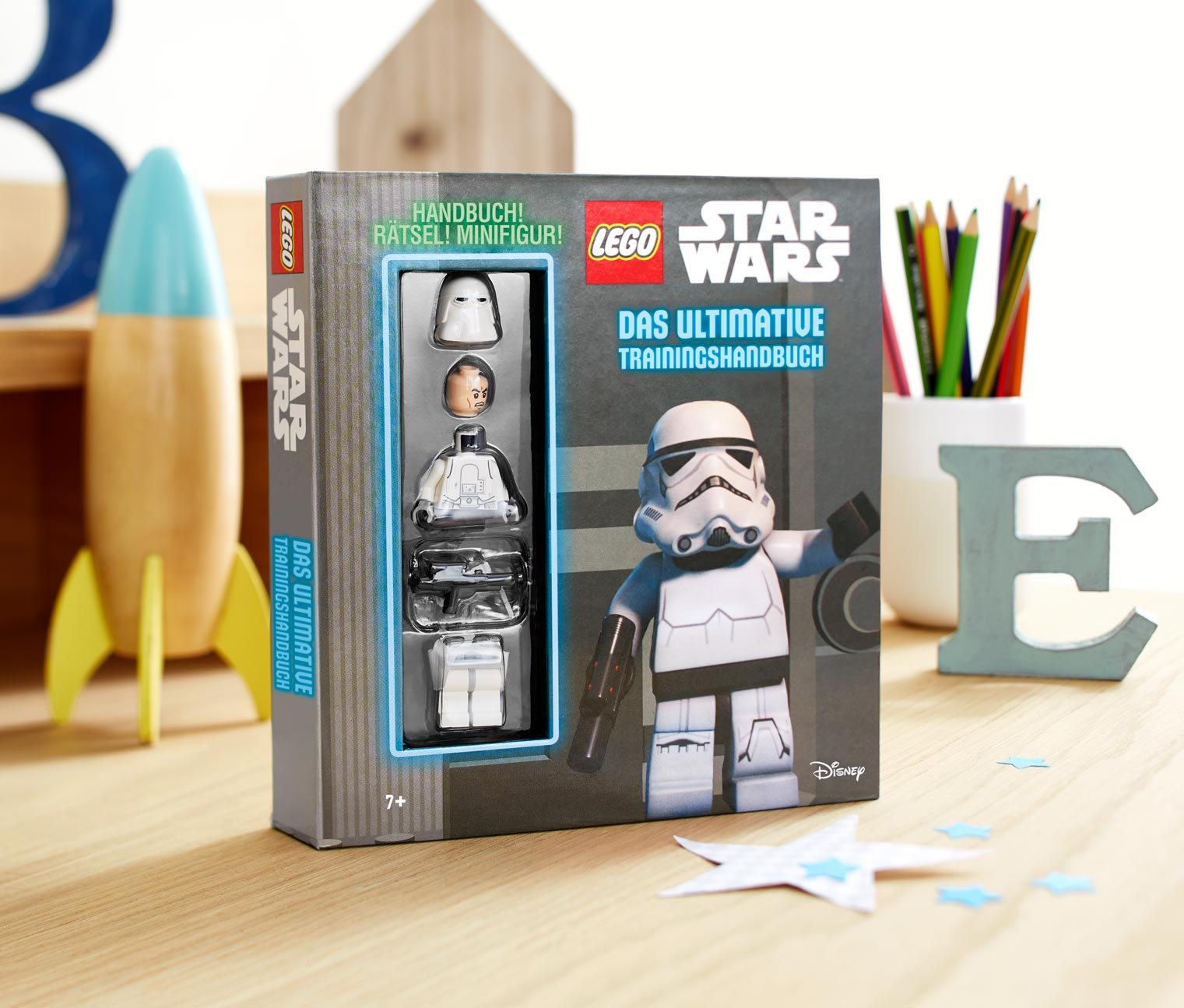 Image of Box »LEGO® Star Wars™ – das ultimative Trainingshandbuch mit Minifigur«