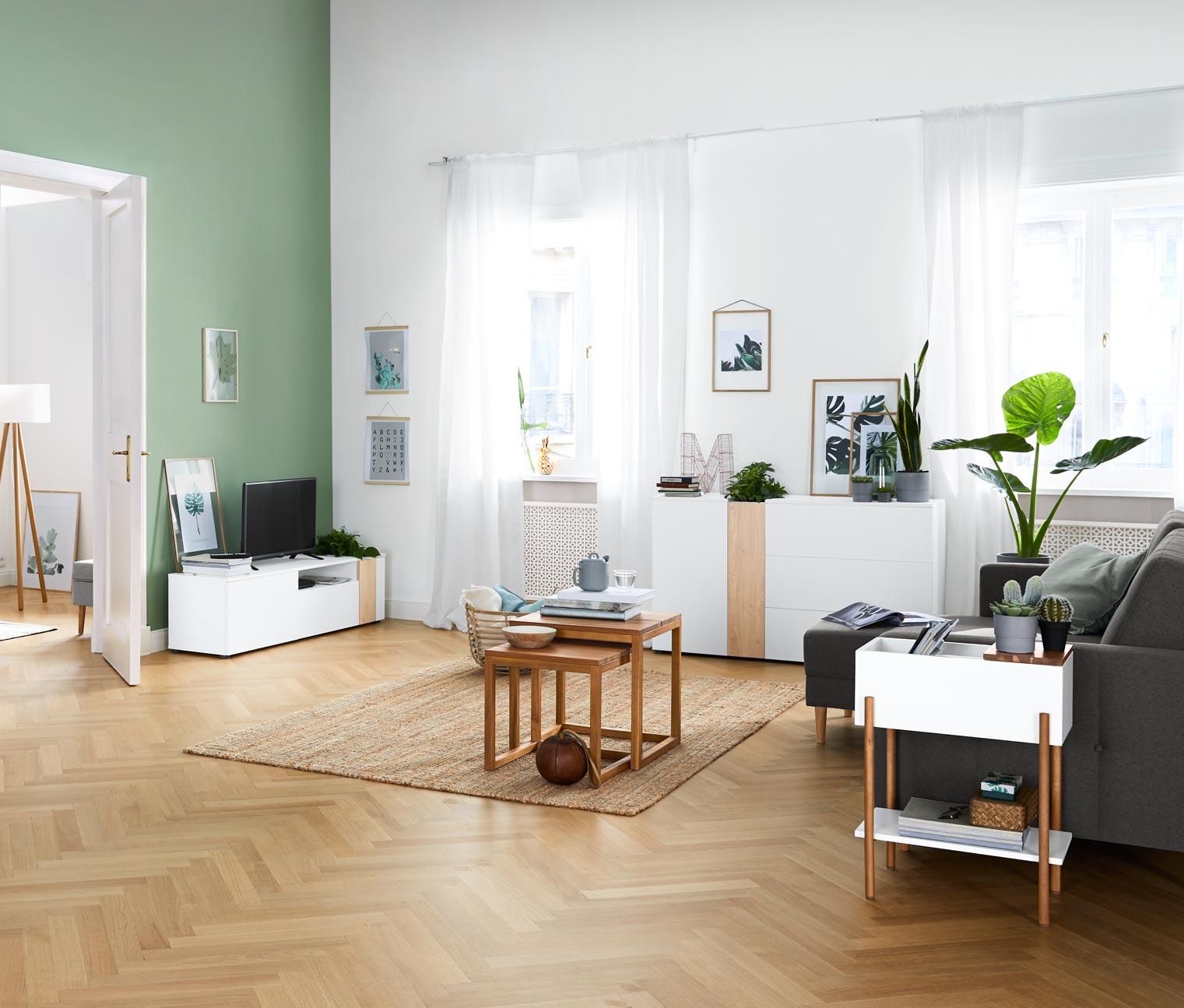 Image of Bepflanzbares TV-Lowboard