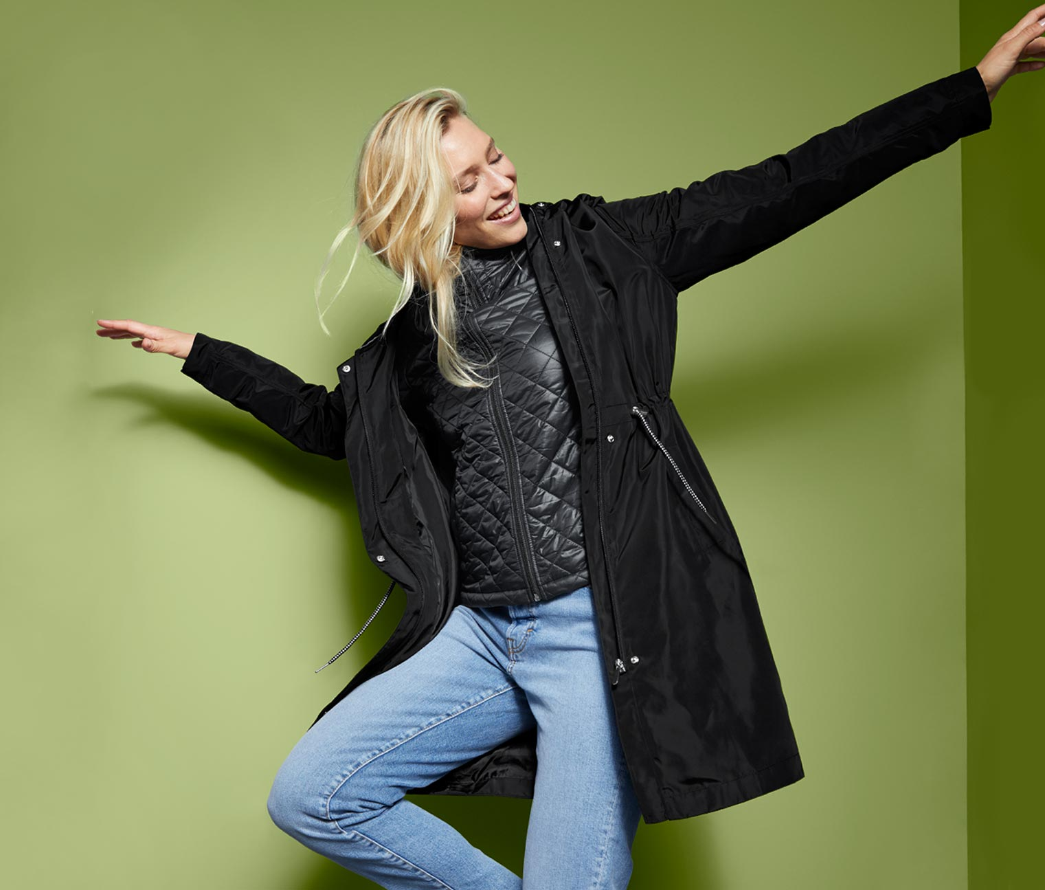 Image of 3-in-1-Funktionsparka und Steppjacke