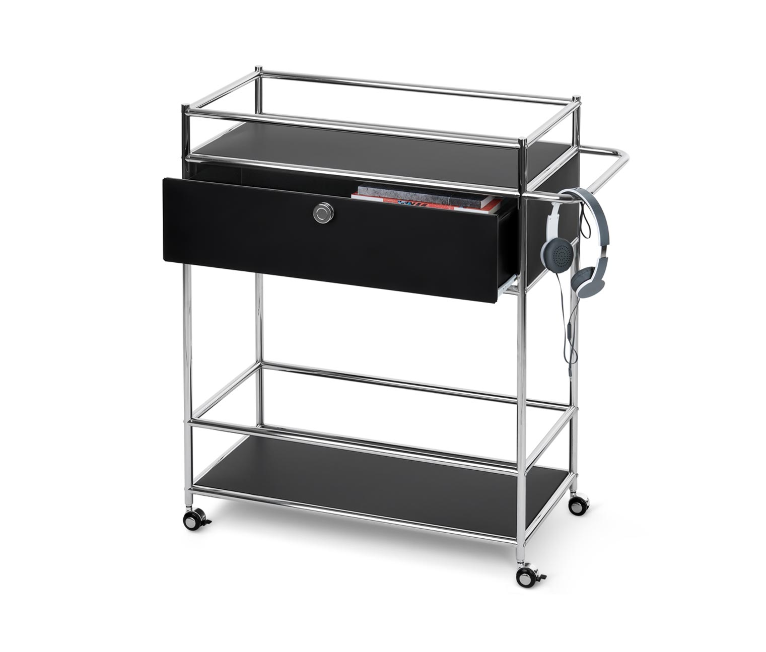 Image of Design-Barwagen aus Metall