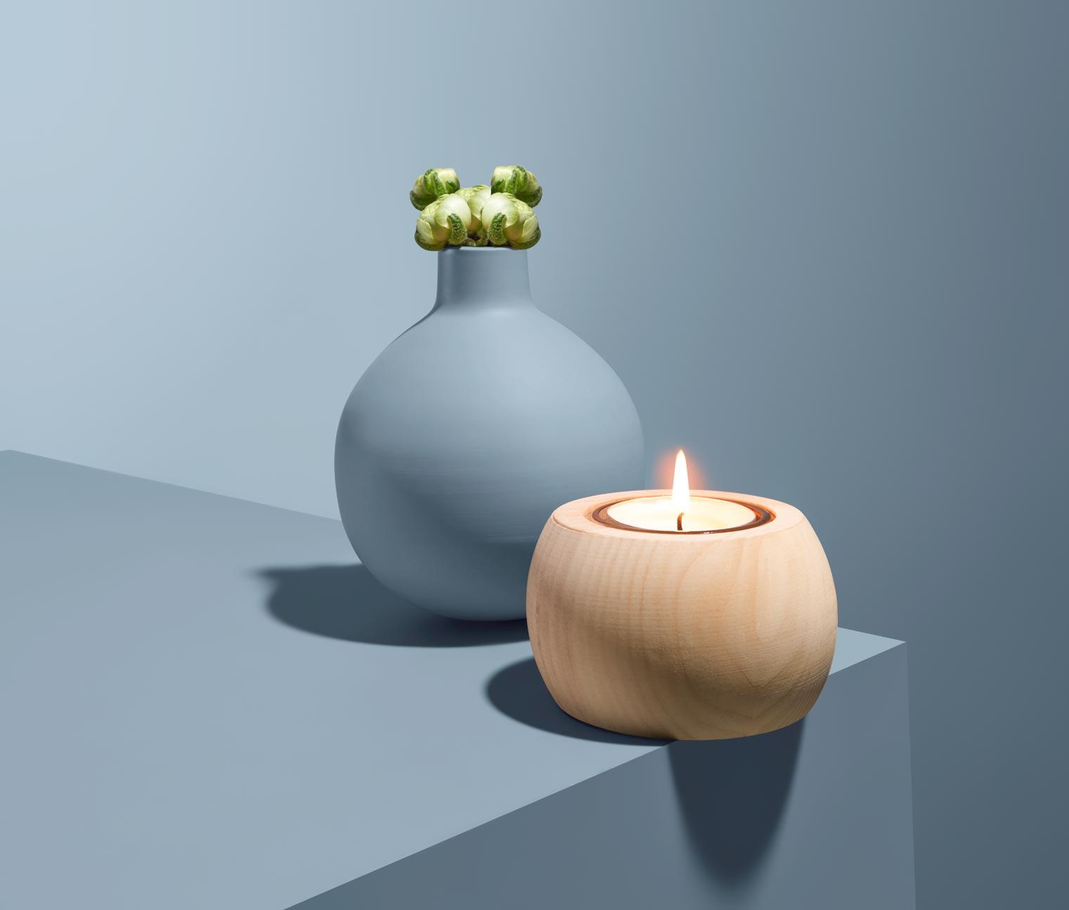 Image of Zirben-Teelichthalter
