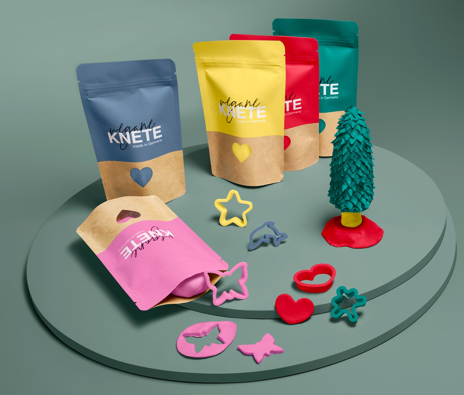 Image of Veganes Knete-Set