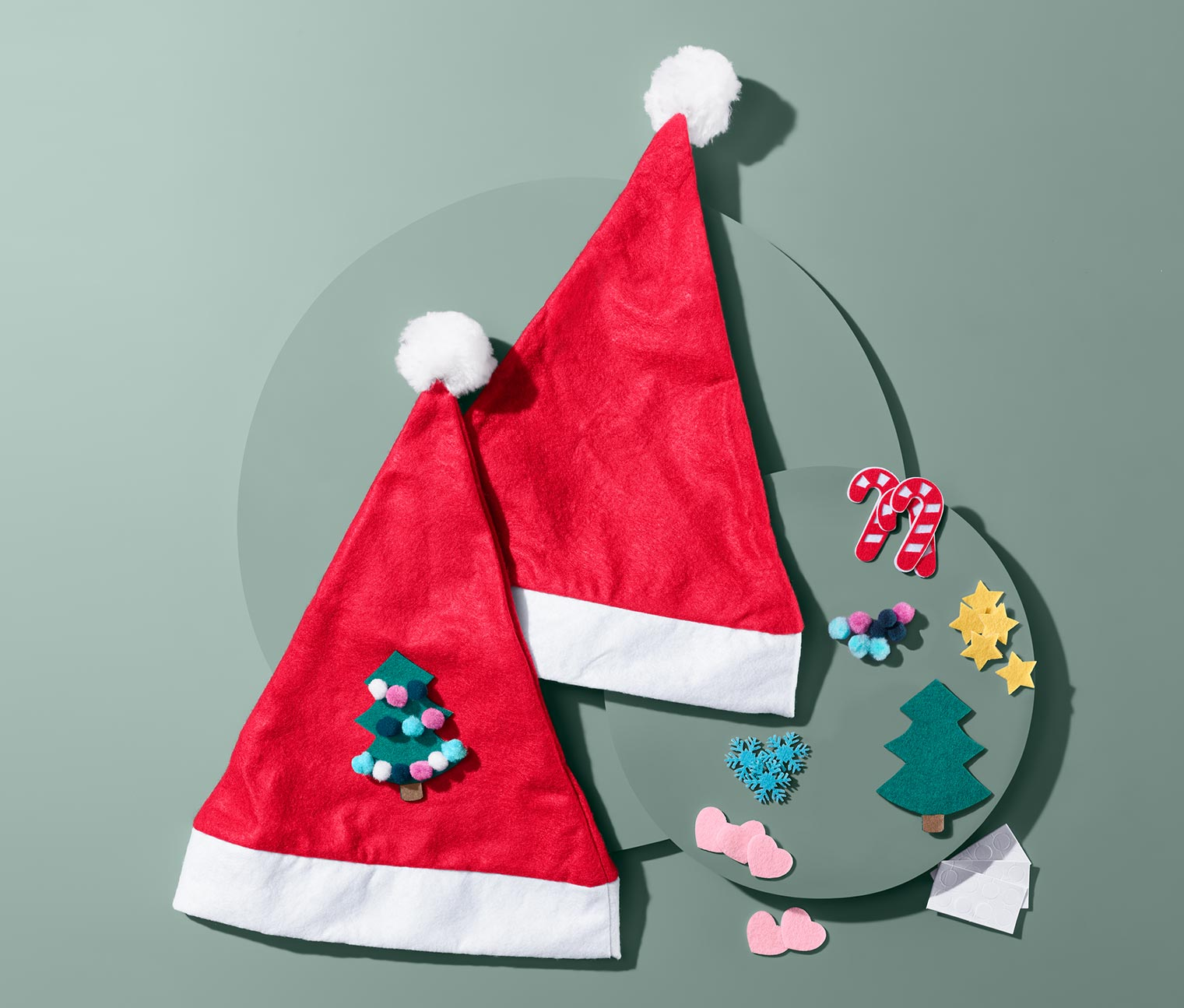 Image of DIY-Weihnachtsmützen-Set