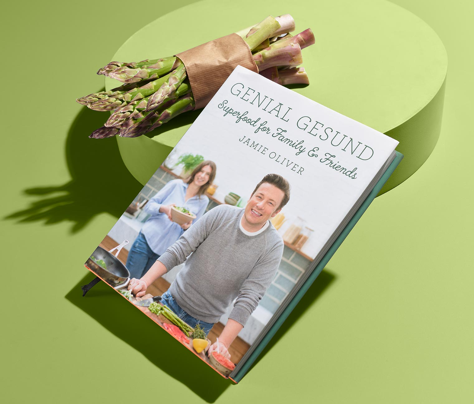 Image of Buch »Genial gesund – Superfood for Family and Friends« von Jamie Oliver