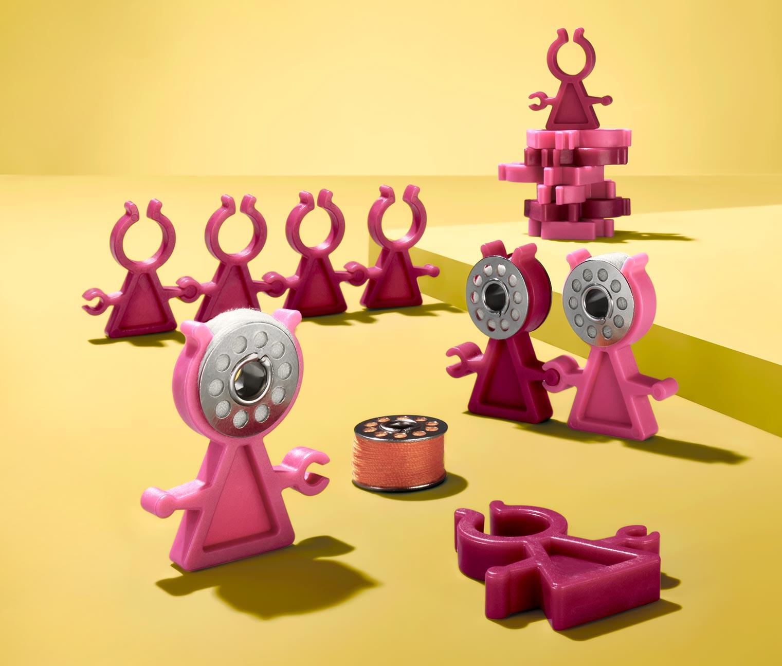Image of Farbspulenklemmen »Bobbin Clip«