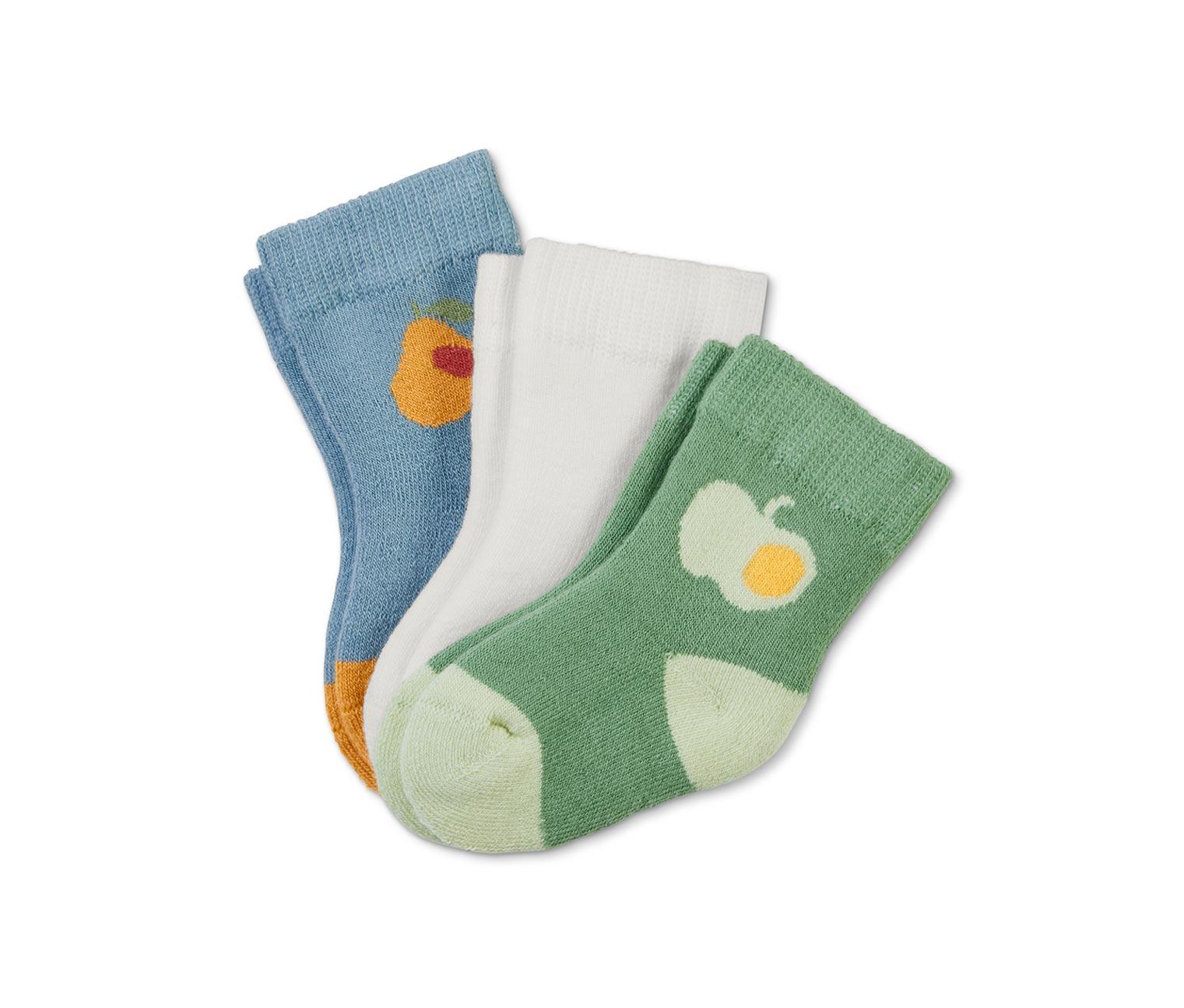 Image of 3 Paar Babysocken