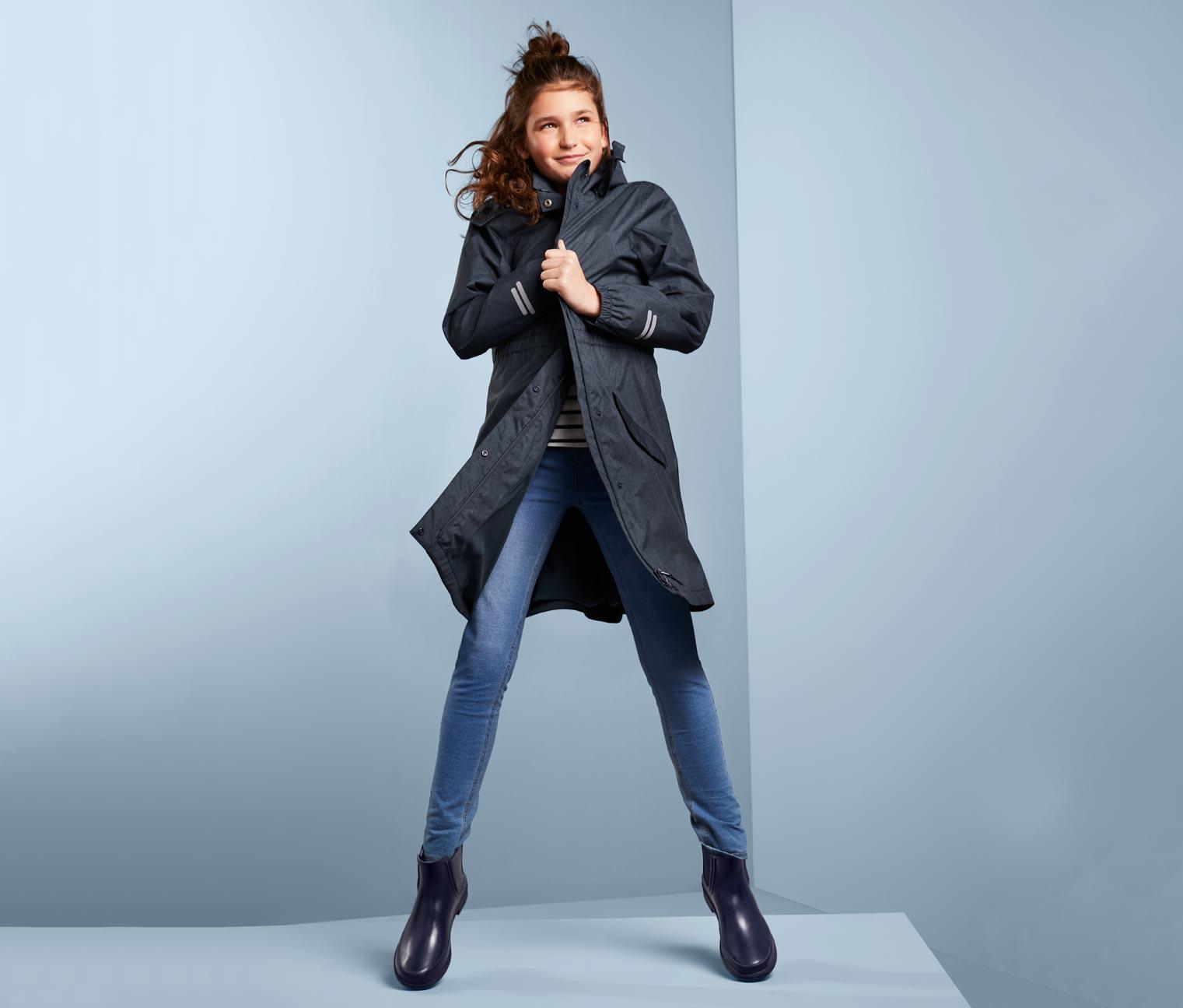 Image of Allwettermantel im Jeans-Look