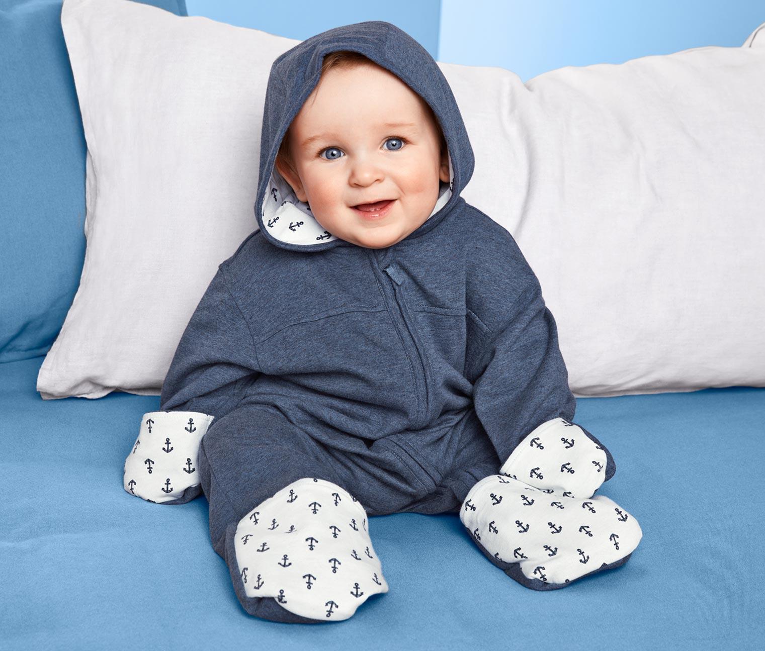 Image of Baby-Sweat-Einteiler