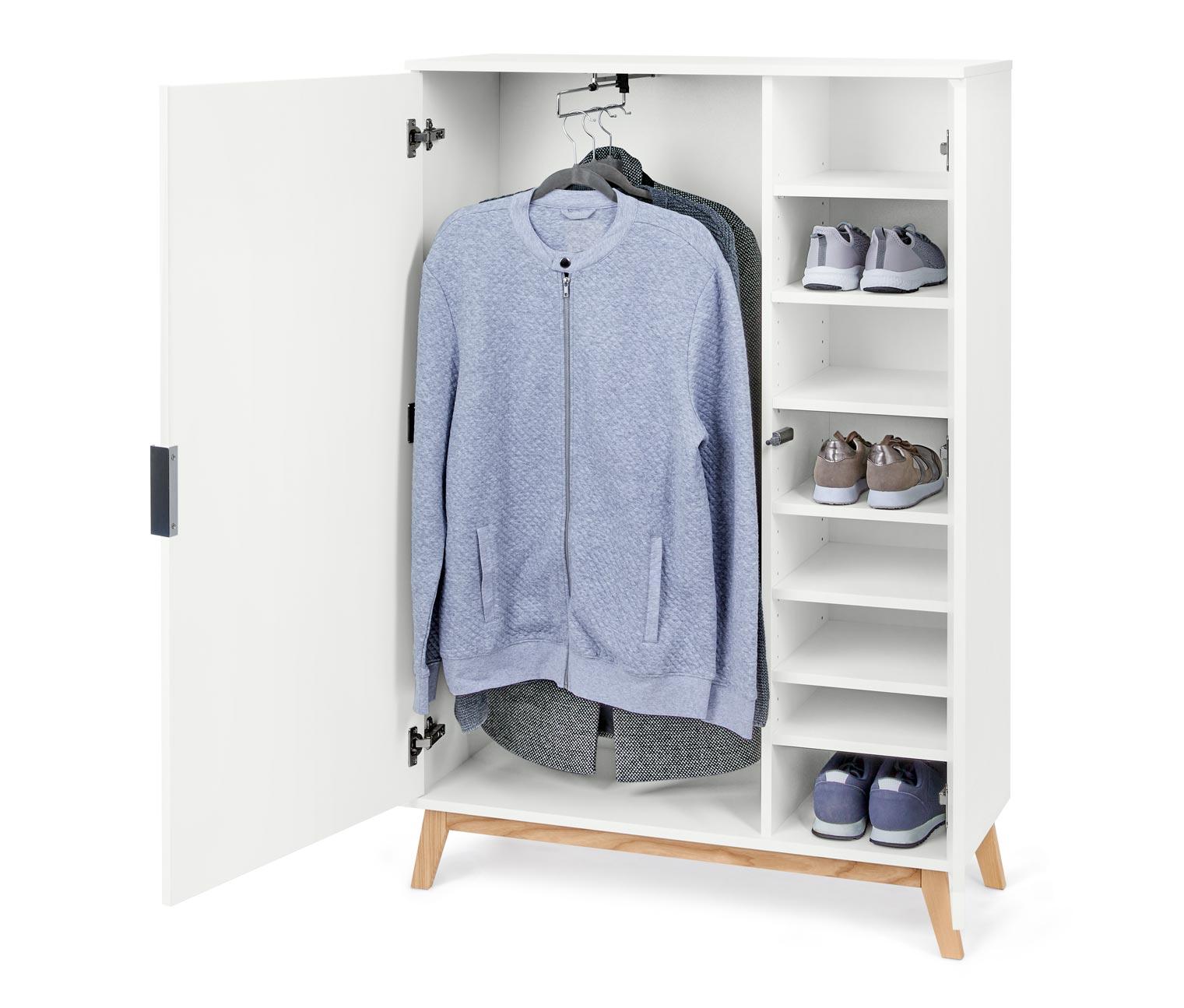 Image of Schuh- und Kleiderschrank