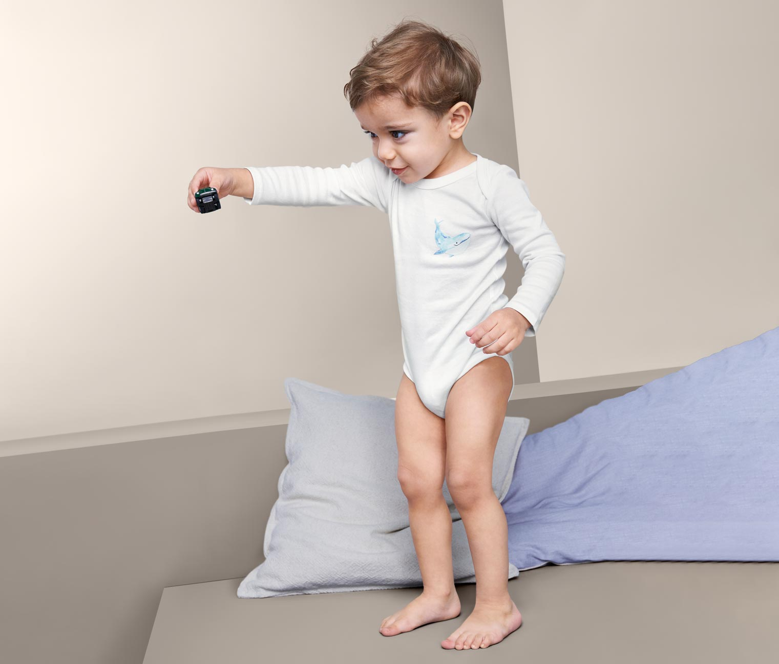 Image of 5 Baby Baumwoll-Bodys