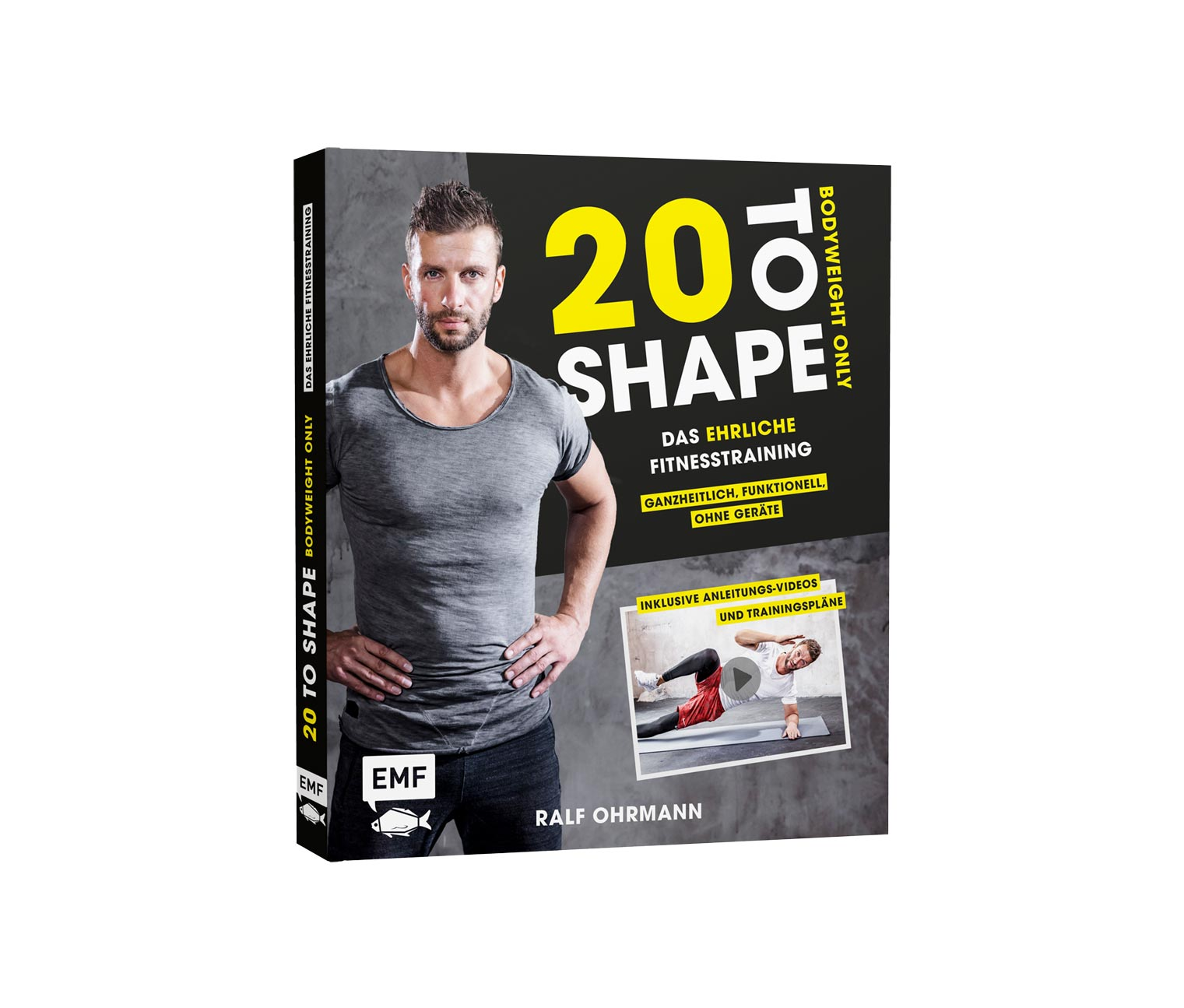 Image of Buch »20 to Shape – Bodyweight only«