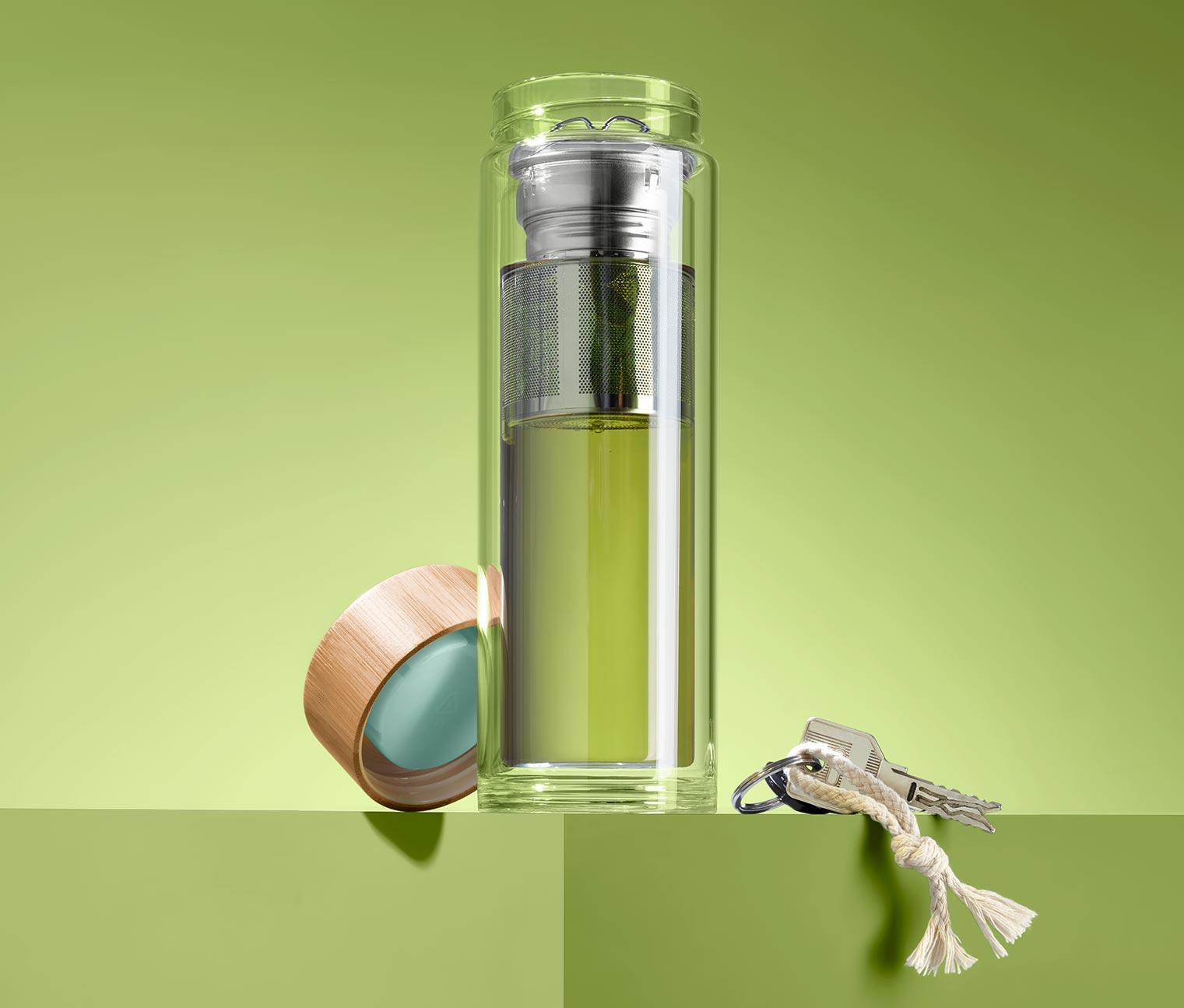 Image of Doppelwandige Trinkflasche