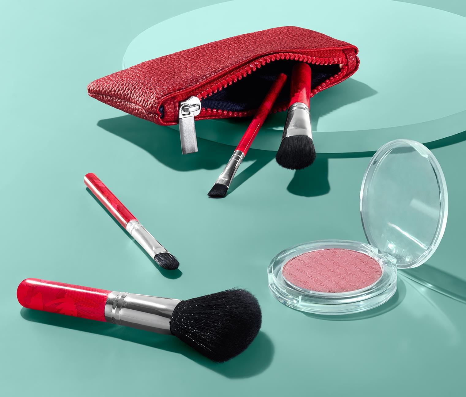 Image of Reise-Kosmetikpinsel-Set