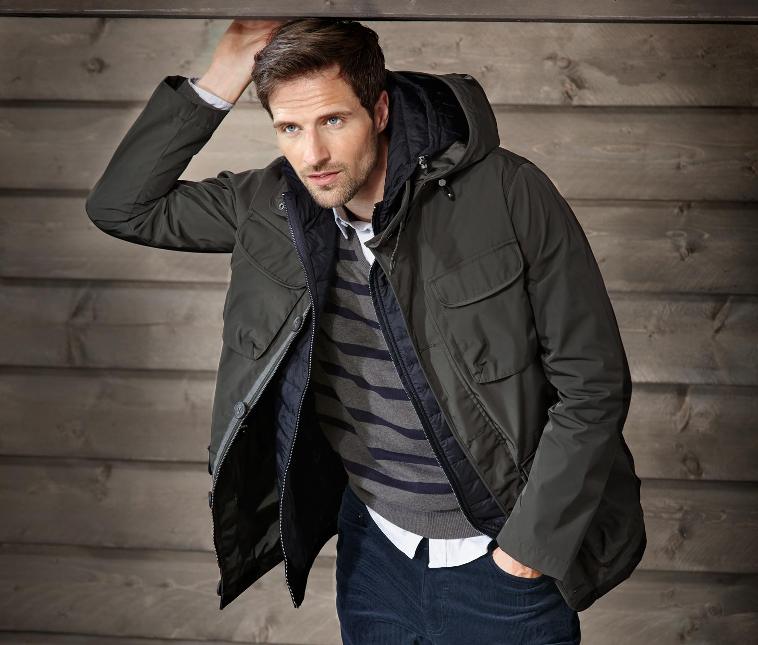 Image of 2-in-1-Jacke