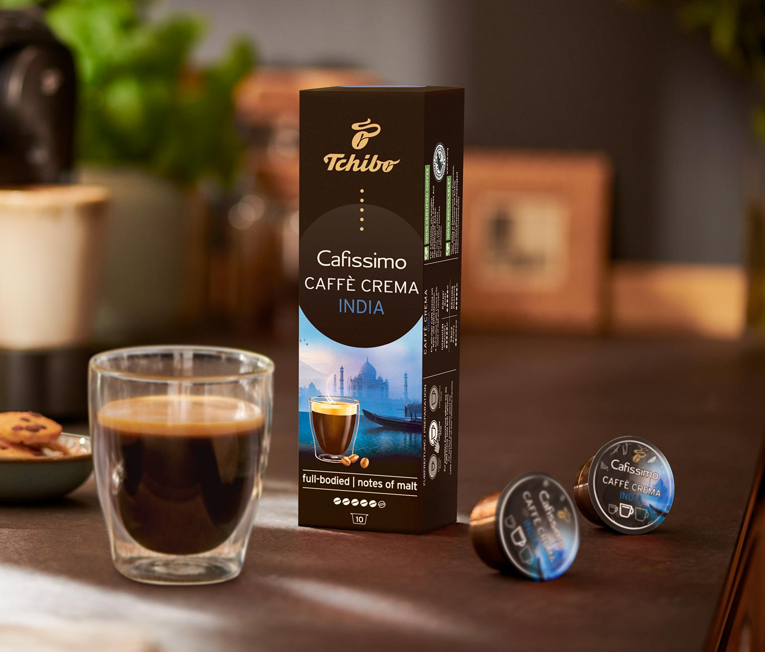 Image of 10 Kapseln Caffè Crema – India Sirisha