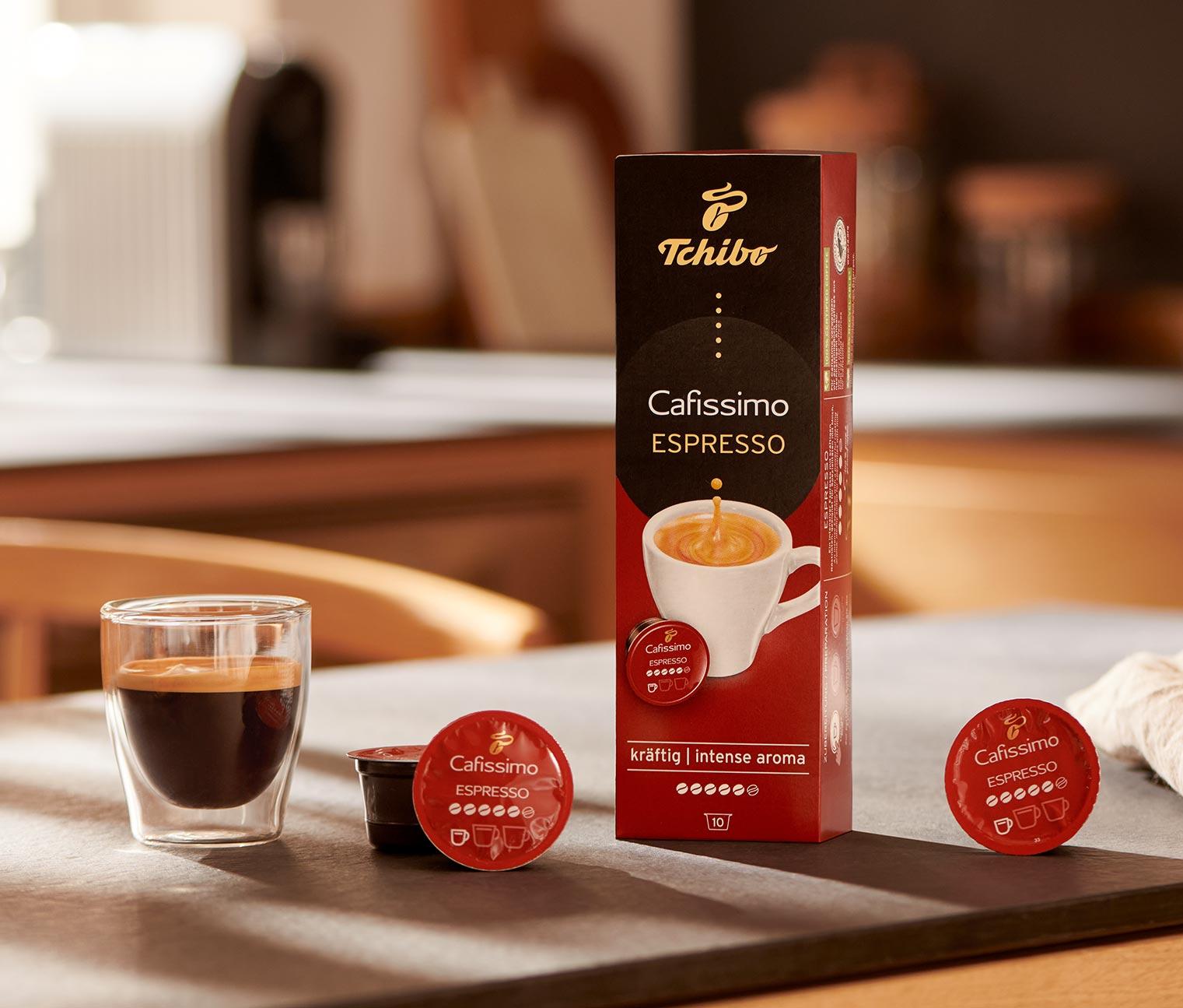 Image of 10 Kapseln Espresso kräftig