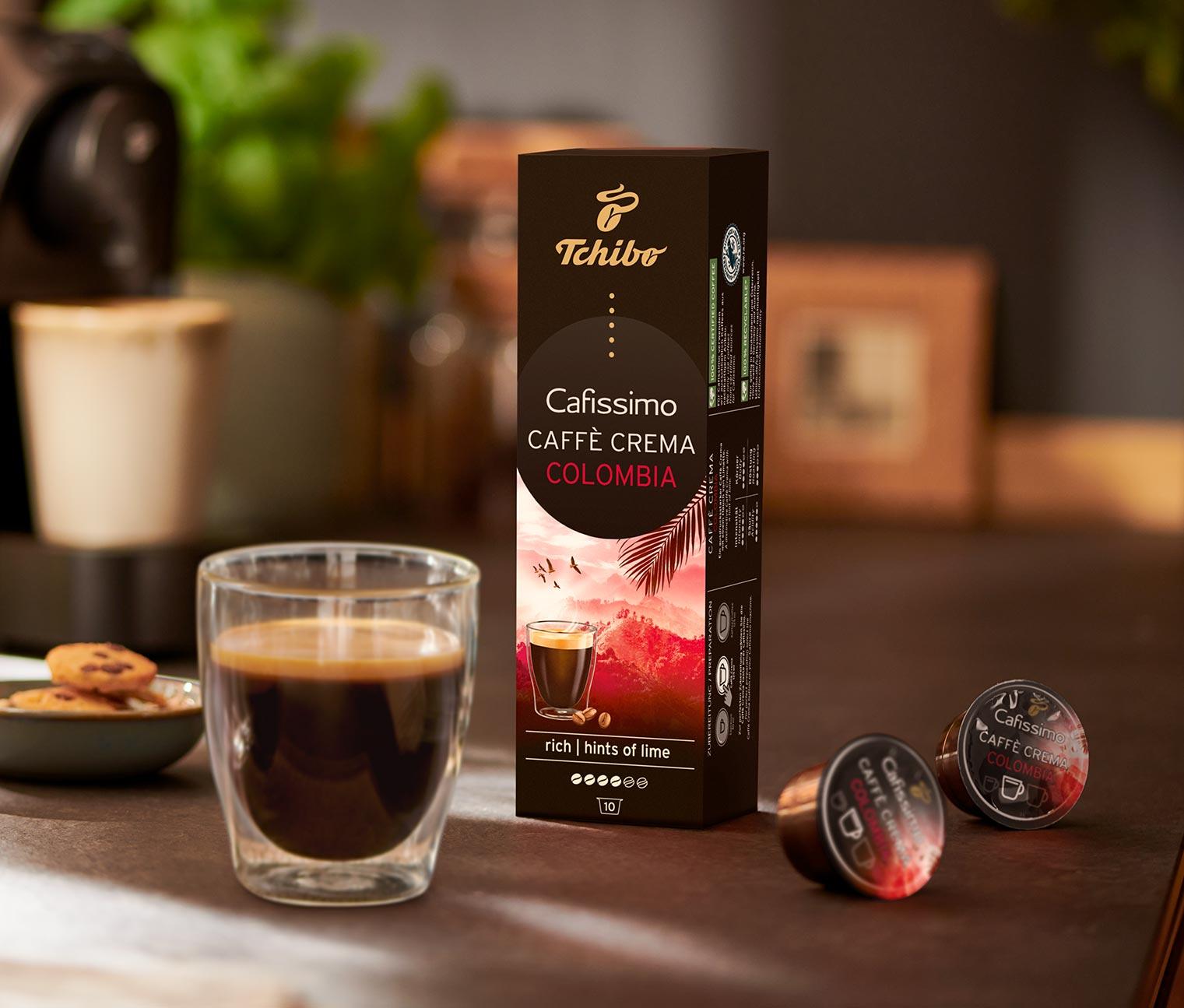Image of 10 Kapseln Caffè Crema – Colombia Andino